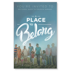 Back to Church Sunday: A Place to Belong