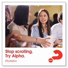 Alpha Stop Scrolling