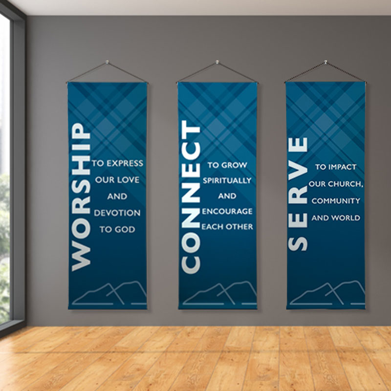 Banners, 2 x 6 Banner: Your Design, 2' x 6'